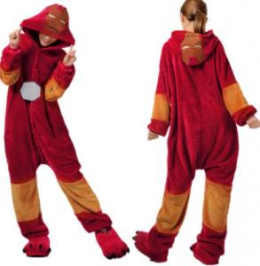 pijamas iron mal con diseños para mujeres y niñas