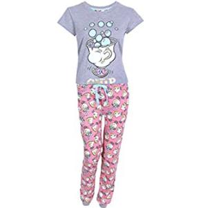 pijamas de la bella y la bestia para mujeres y niñas