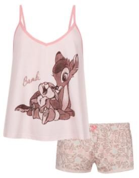 comprar pijama de bambi para mujeres o niñas, madre e hija, diseños tiernos y de calidad