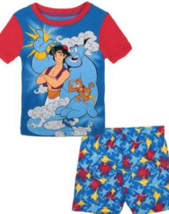 pijamas de aladdin para niños, comprar pijamas aladdin baratos para niño