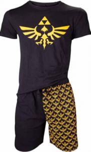 pijamas cortos de zelda para verano