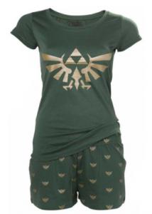 comprar pijamas de zelda para mujeres baratos, pijamas de legend of zelda al mejor precio