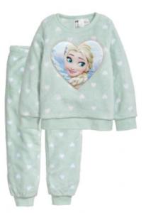 pijama frozen elsa amor corazon