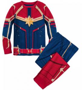 comprar un pijama capitana marvel para mujeres o niñas