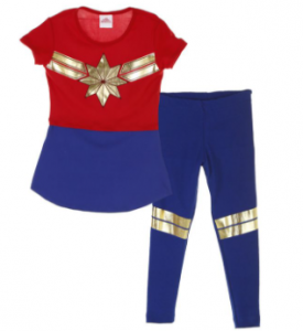 comprar pijamas de captain marvel para mujeres, captain marvel pijamas