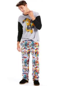 comprar pijamas de transformers para adultos, pijama transformers para hombre