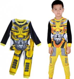 comprar un divertido pijama transformers para niño