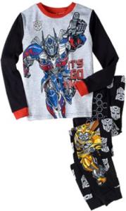 comprar unos pijamas de Optimus primes Transformers