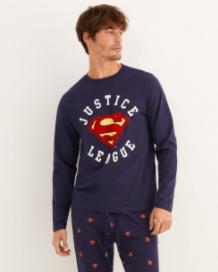 comprar pijamas de la liga de la justicia para hombres adultos
