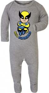 comprar pijamas de wolverine o de logan lobezno para niños
