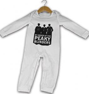comprar pijamas de peaky blinders para bebés