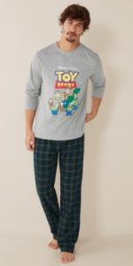 pijamas toy story para adultos varones hombres comprar los mejores modelos y diseños estampados de pijamas toy history