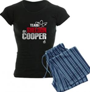 comprar pijamas de big bang theory para mujeres y hombres team sheldon