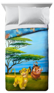 comprar sábanas del rey león, edredones y colchas de el rey león ropa de cama
