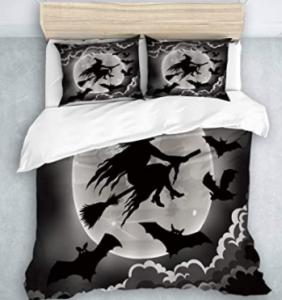 sábanas y edredones del dia de brujas