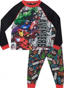 comprar pijamas marvel con diseños de todos sus personajes