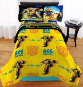comprar un edredón o ropa de cama de transformers bumblebee