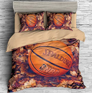 comprar un edredón de baloncesto, ropa de cama para baloncesto y sábanas