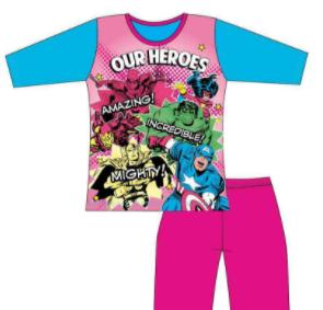 pijama marvel niña comprar al mejor precio tienda friki online frikinerd
