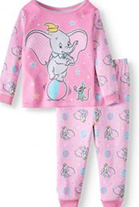 pijamas infantiles de dumbo baratos para niñas