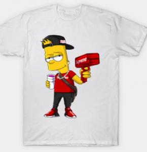 Camisetas de Bart Simpsons para todas las tallas