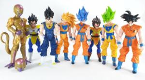 Los mejores muñecos articulados de la serie Dragon Ball