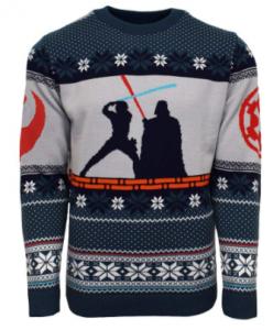 Jerseys y suéteres frikis navideños de personajes de star wars divertidos