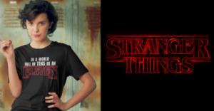 Camisetas de Stranger things de Once eleven 11