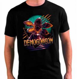 Camisetas de demogorgon de stranger things