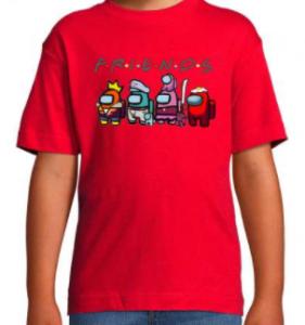 Camisetas Friends para niños