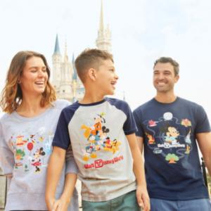 Camisetas de Disney baratas para toda la familia, camiseta de mickey mujer