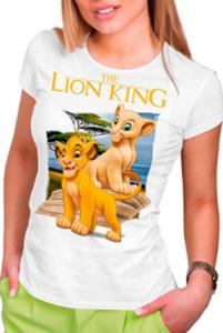 Comprar camisetas de El Rey León para mujer baratas
