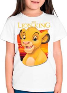 Comprar camisetas del Rey León para niñas