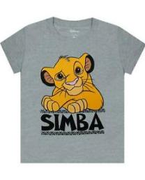 comprar Camisetas del rey león de Simba, camiseta para niño de el rey leon