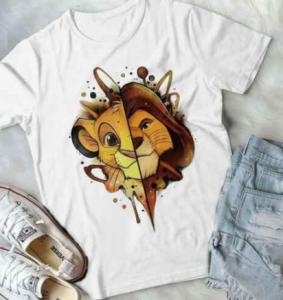 Camisetas del Rey León para chicas