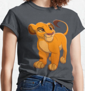 Comprar camisetas baratas de el rey león para mujeres niños niñas y hombres