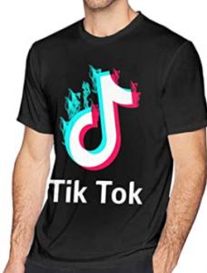 Camisetas de Tik Tok para hombres, comprar camiseta tik tok hombre barata