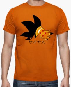 Camisetas para hombres de Dragon Ball z en venta, comprar camiseta dragon ball hombre