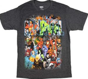 Comprar las mejores camisetas de los personajes de Marvel a buen precio, camisetas de marvel baratas