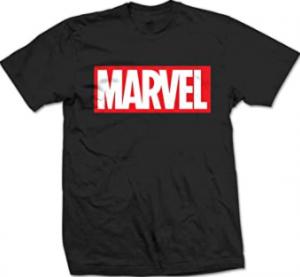 Comprar una camiseta de logo de Marvel es muy fácil