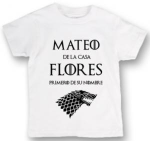 Camisetas baratas de Juegos de Tronos para niños, comprar camiseta juego de tronos niño o niña