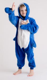 comprar pijamas tiburon para niños y niñas
