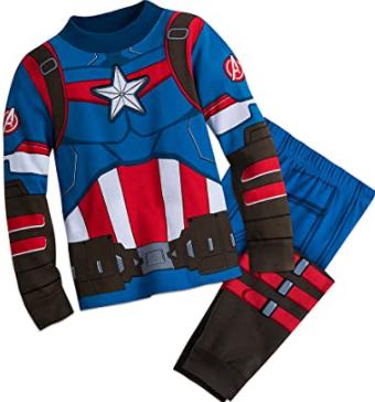 comprar los mejores Pijamas del capitán américa