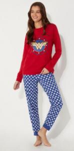 Pijamas wonder woman para mujeres