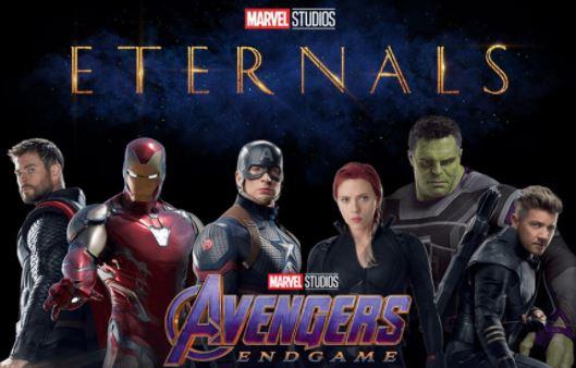 eternals conecta con los vengadores avenges endgame, relacion de los eternos con avengers endgame, los eternos