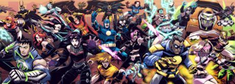 estos son los miembros de los eternos de marvel, miembros de los eternals, todos los personajes