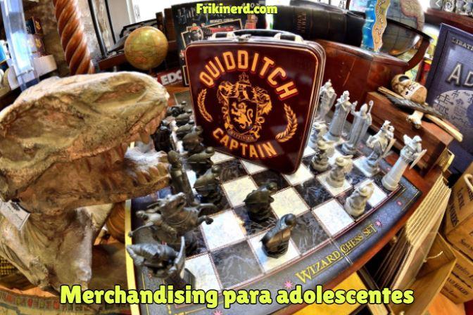 merchandising para adolescentes, merchandising juvenil, productos oficiales con licencia. Tipos de Merchandising