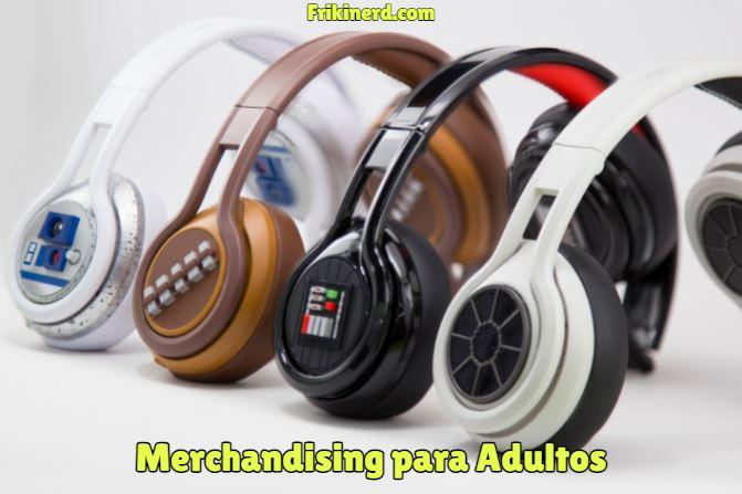merchandising para adultos, tipos de merchandising. Merchandising para adultos de star wars, productos oficiales con licencia