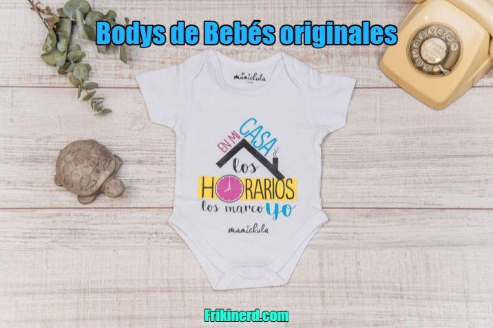 bodys de bebé originales, ropa divertida para bebés. Body bebé original y divertido para varón o hembra