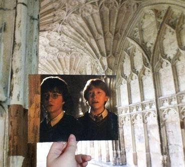 el castillo de harry potter existe